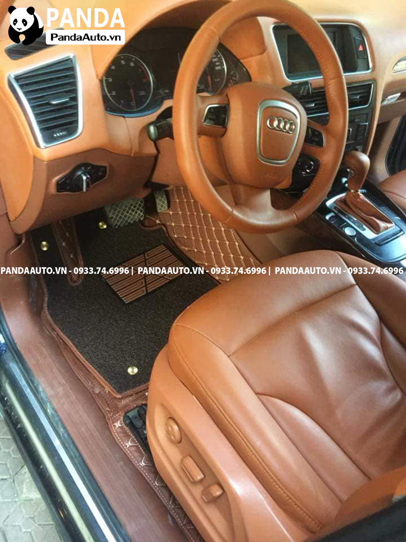 Thảm sàn 6D Audi Q5 ghế lái