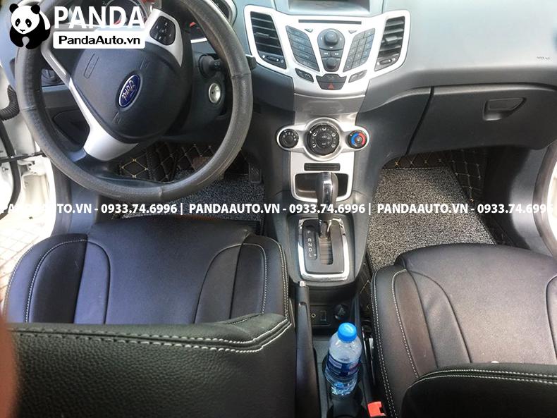 Thảm lót sàn 6D Ford Fiesta ghế lái và ghế phụ