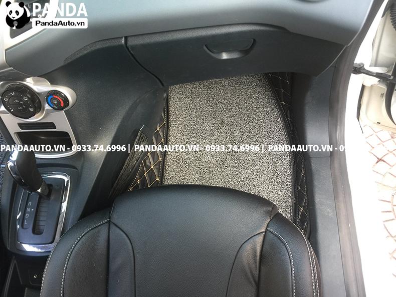 Thảm sàn 6D Ford Fiesta ghế phụ