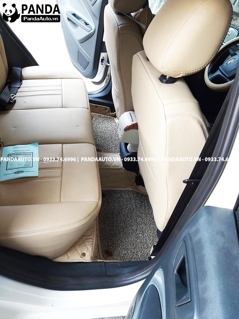 Lót sàn xe Ford Fiesta hàng ghế sau