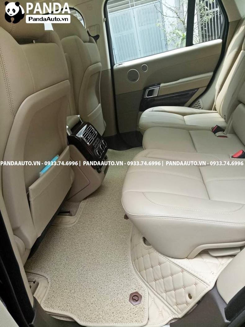 Thảm lót sàn 6D Land Rover hàng ghế sau