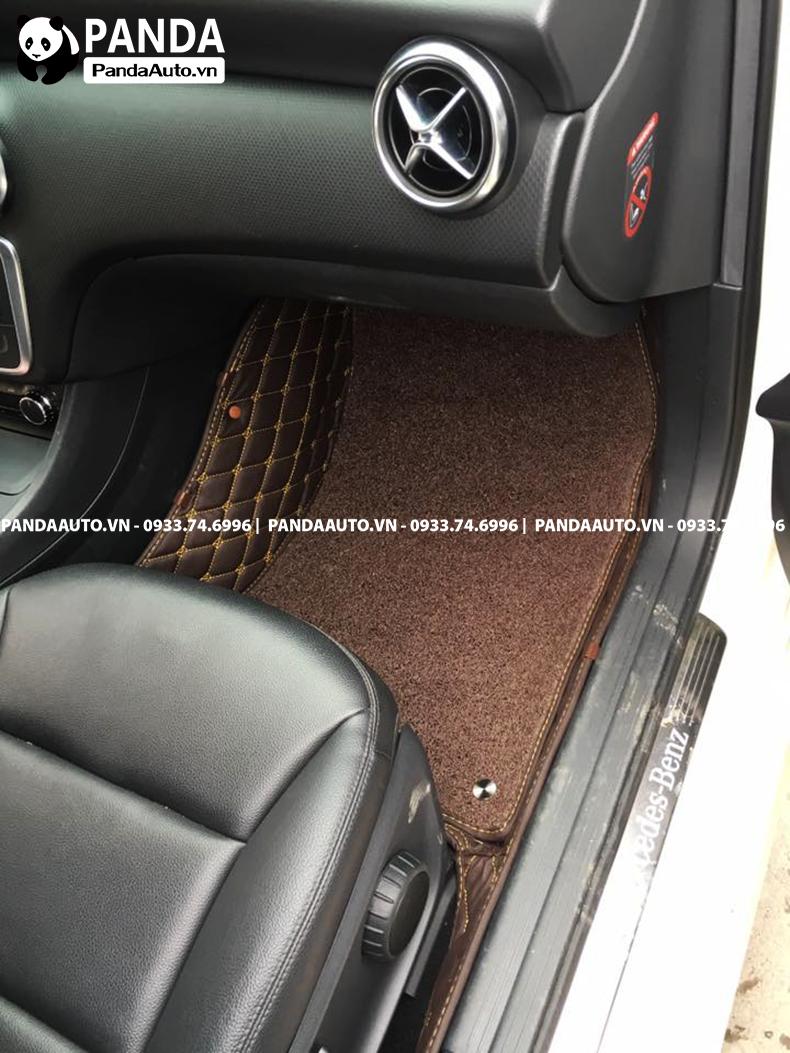 Thảm lót sàn 6D Mercedes A200 ghế phụ