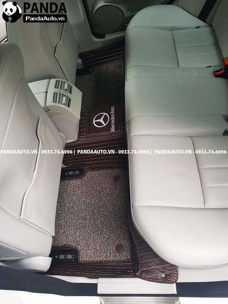 Lót sàn 6D Mercedes C200 C250 hàng ghế sau