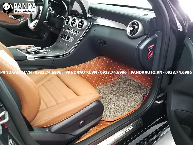 Thảm 6D Benz C250 ghế phụ