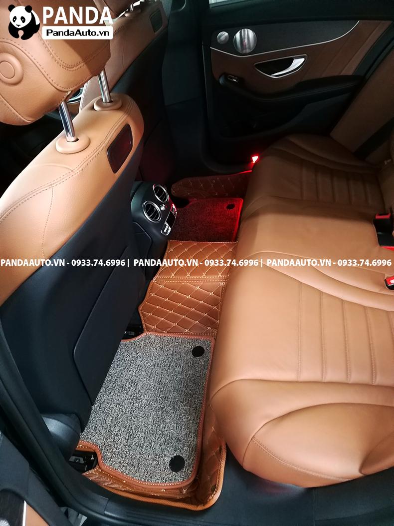 Thảm sàn 6D Benz C250 hàng ghế sau