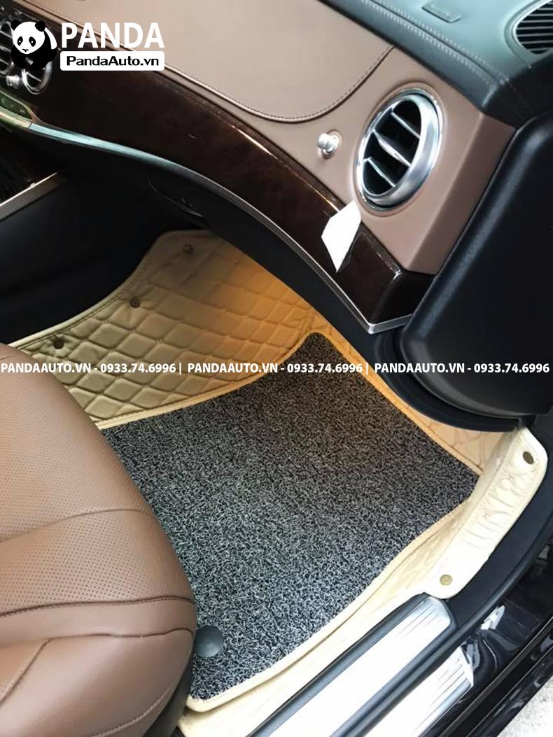 Thảm lót sàn 6D Mercedes S400 ghế phụ