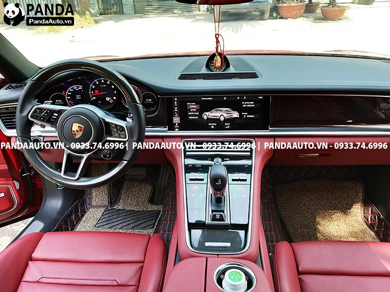 thảm ,lót sàn xe Panamera ghế lái và ghế phụ