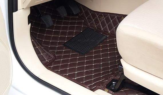 Thảm lót sàn ô tô 5D, 6D xe Toyota Vios 2019_LỚP THẢM DA 5D CAO CẤP