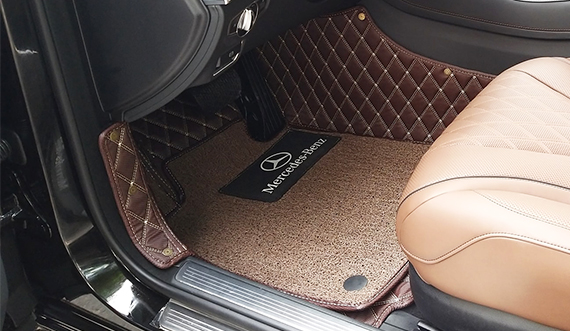 Thảm lót sàn ô tô 5D, 6D xe Toyota Vios 2019_LỚP THẢM RỐI CHỐNG BỤI