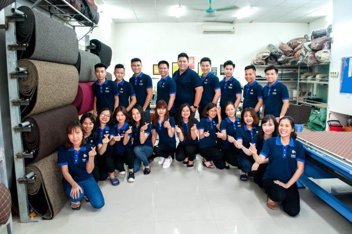 Xưởng sản xuất thảm lót sàn Panda Auto