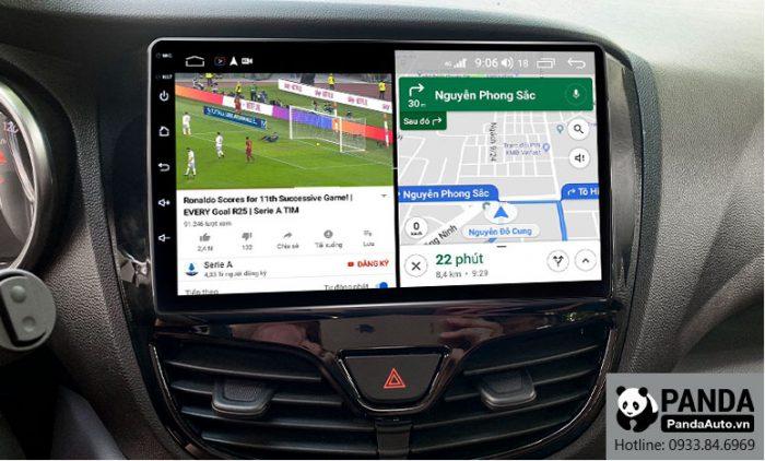 Chạy đa nhiệm ứng dụng trên màn hình Android cho xe Vinfast Fadil