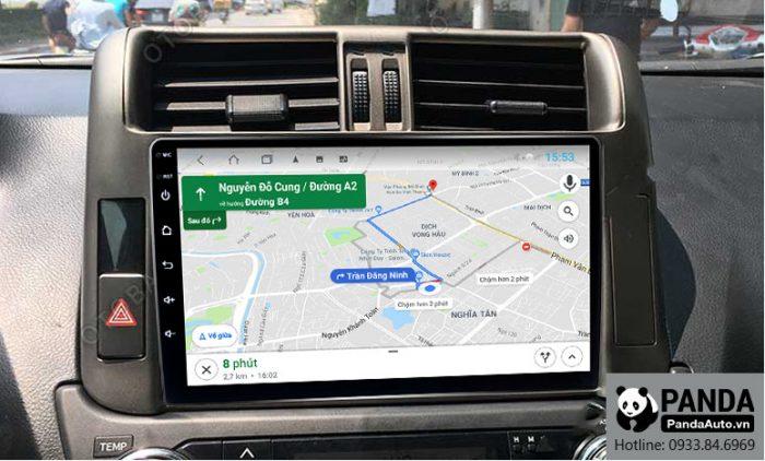 man-hinh-android-4G-cho-xe-Toyota-Prado-giup-chi-duong-thong-minh