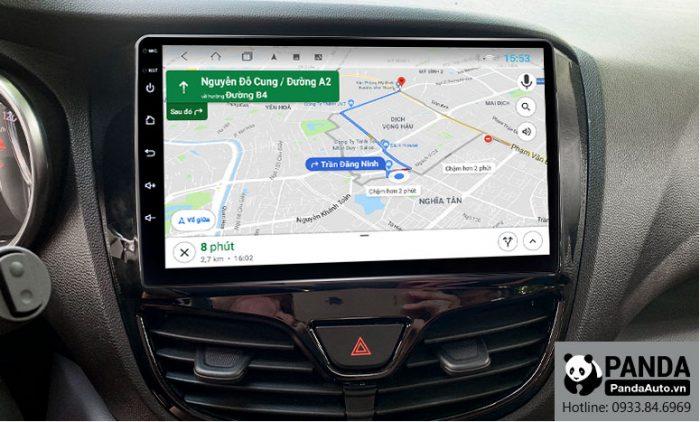 Chỉ đường thông minh trên màn hình Android cho xe Vinfast Fadil