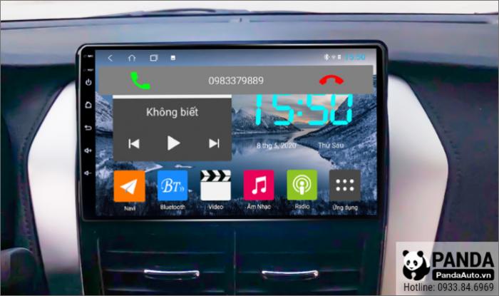 nghe-goi-dien-thoai-truc-tiep-tren-man-hinh-android-cho-xe-Toyota-Vios-E-2019