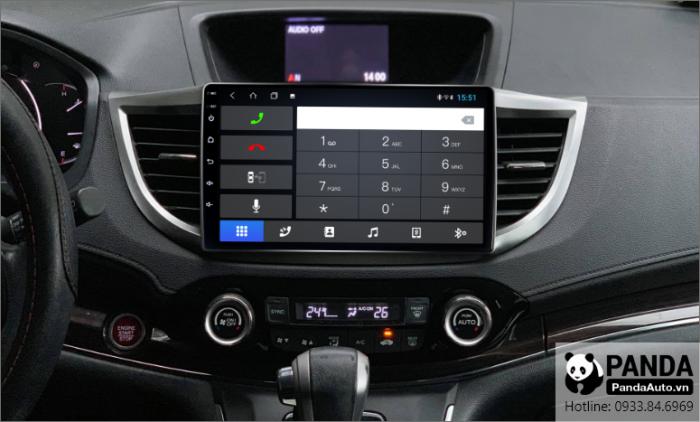 Kết nối bluetooth nghe điện thoại trực tiếp lên màn hình Android cho xe Honda CRV 2013-2017