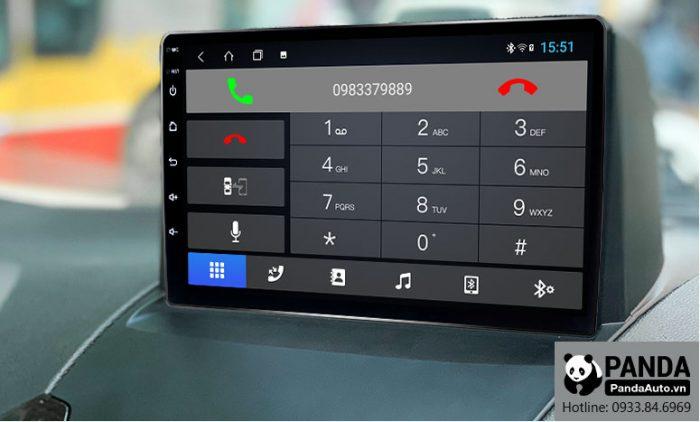 Kết nối Bluetooth nghe gọi điện thoại trên màn hình Android cho xe Ford Ecosport