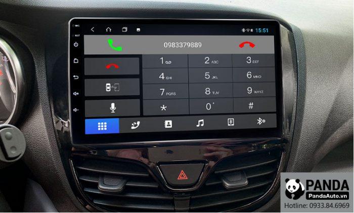 Kết nối Bluetooth nghe gọi điện thoại trên màn hình Android cho xe Vinfast Fadil