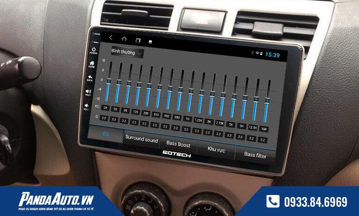 Màn hình dvd android hỗ trợ nghe nhạc với âm thanh đỉnh cao tự động căn chỉnh