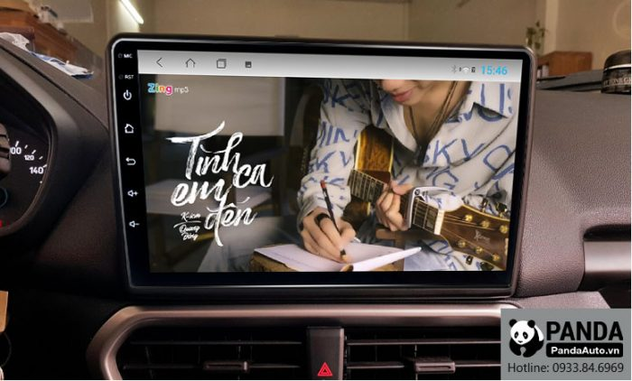 Nghe nhạc zing MP3 trên màn hình Android cho xe Ford Ecosport