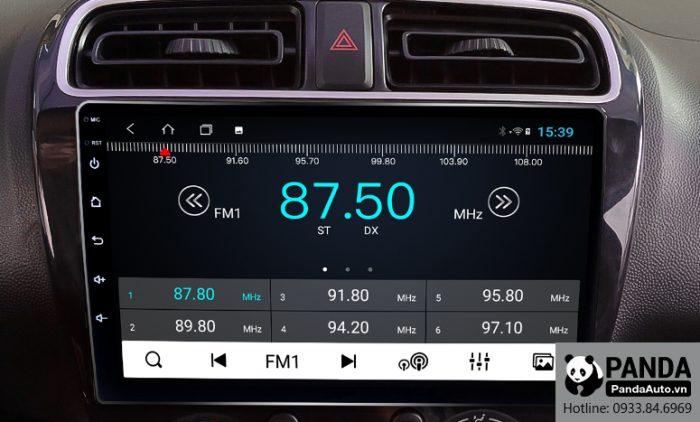 Nghe Radio trên màn hình Android cho xe Attrage