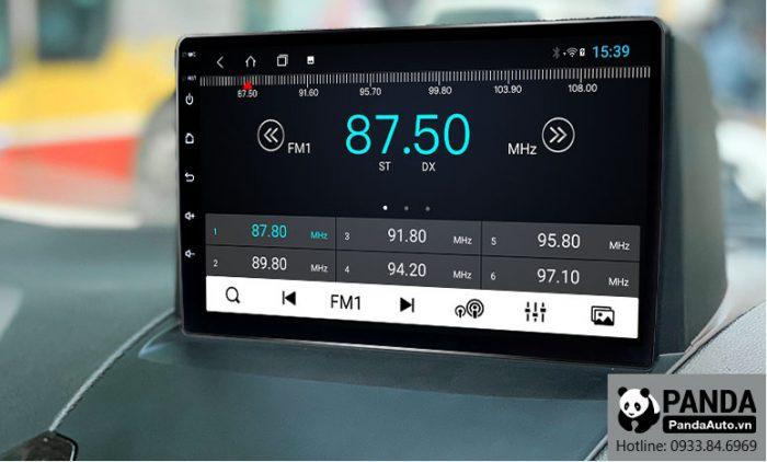 Nghe Radio trên màn hình Android cho xe Ford Ecosport