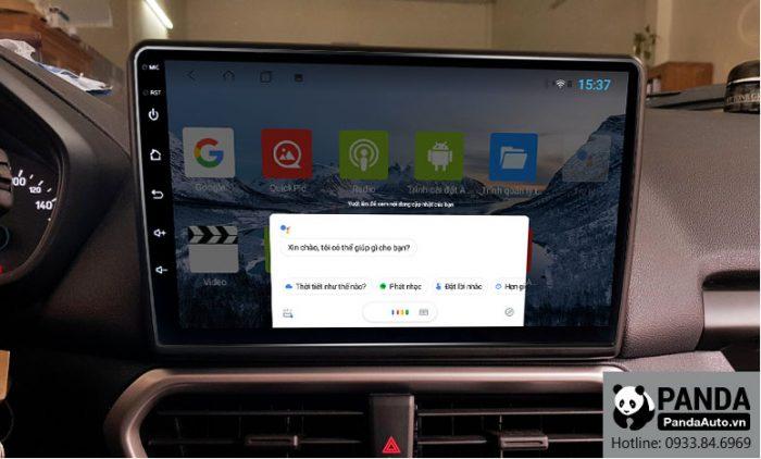 Ra lệnh giọng nói Google Assistant trực tiếp trên màn hình Android cho xe Ford Ecosport