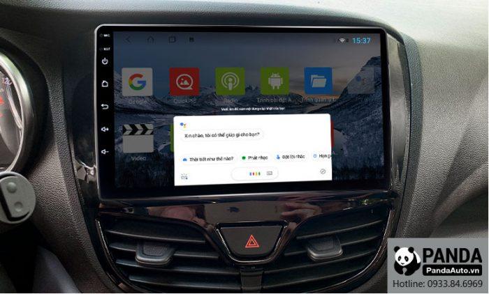 Ra lệnh giọng nói Google Assistant trực tiếp trên màn hình Android cho xe Vinfast Fadil
