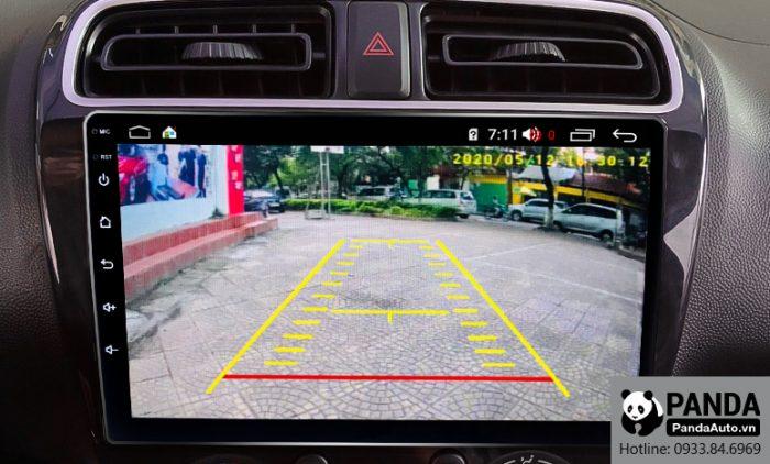 Tích hợp camera lên màn hình Android cho xe Attrage