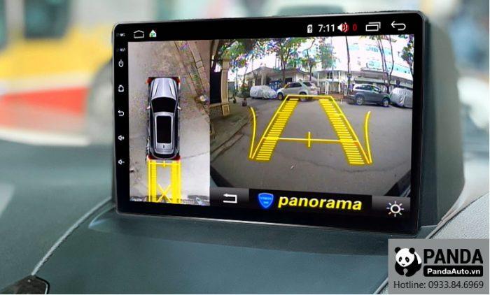 Tích hợp camera lên màn hình Android cho xe Ford Ecosport