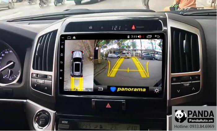 man-hinh-android-cho-xe-Toyota-Land-Cruiser-tich-hop-camera