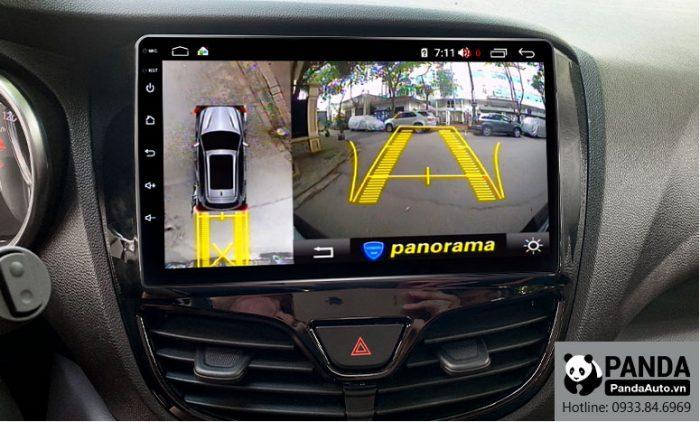 Tích hợp camera lên màn hình Android cho xe Vinfast Fadil