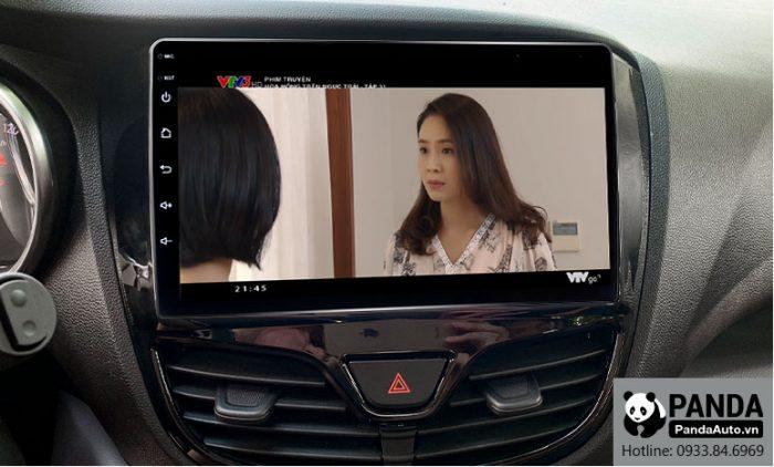 Xem phim giải trí trên màn hình Android cho xe Vinfast Fadil