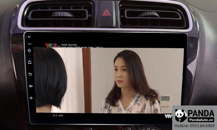 Xem phim giải trí trên màn hình Android cho xe Attrage