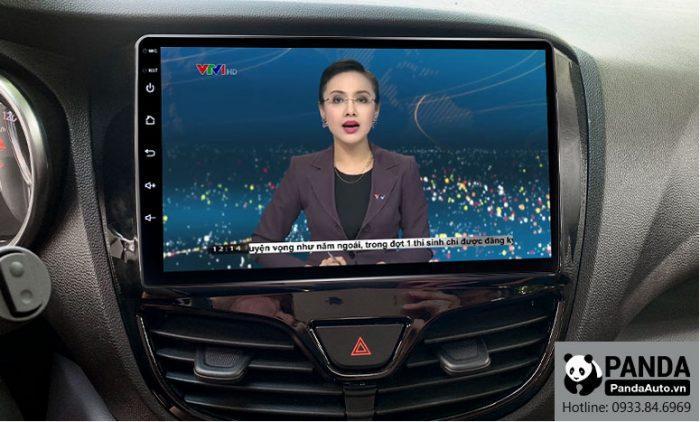 Xem thời sự VTV trực tuyến trên màn hình Android cho xe Vinfast Fadil
