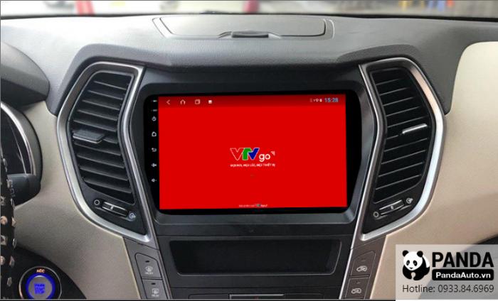 man-hinh-Android-cho-xe-Hyundai-Santafe-ho-tro-xem-tivi-truc-tuyen