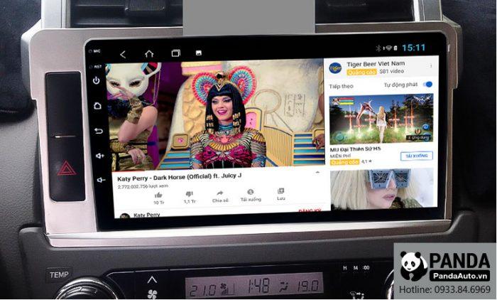 man-hinh-android-cho-xe-Toyota-Prado-cho-phep-xem-youtube-nho-ket-noi-4g