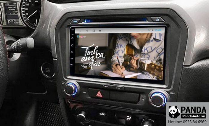 Nghe-nhac-zing-MP3-tren-man-hinh-Android-cho-xe-Suzuki-Vitara