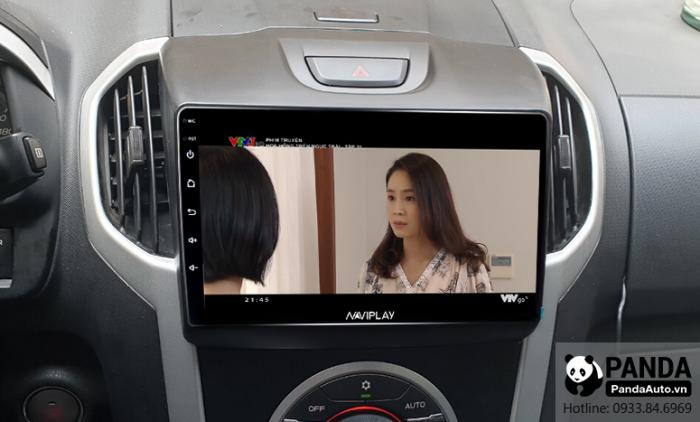 Xem-phim-tren-man-hinh-Android-cho-xe-Chevrolet-Colorado