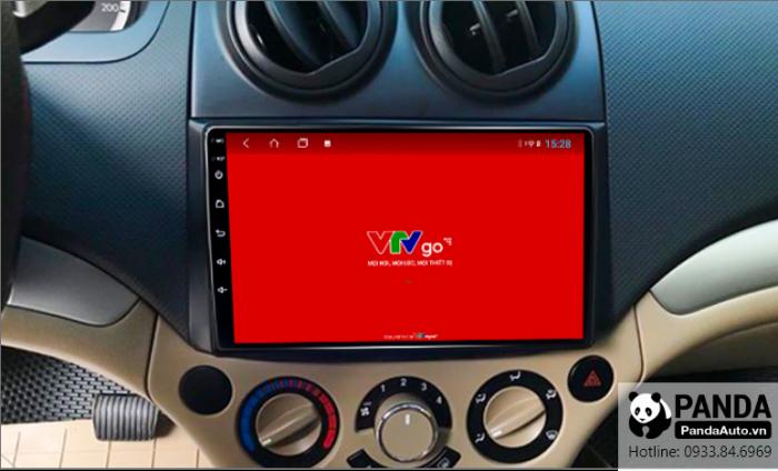 Xem-VTV-online-tren-man-hinh-Android-cho-xe-Chevrolet-Aveo