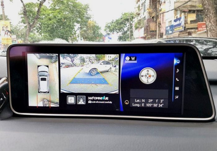 Camera 360 ô tô cho e Lexus