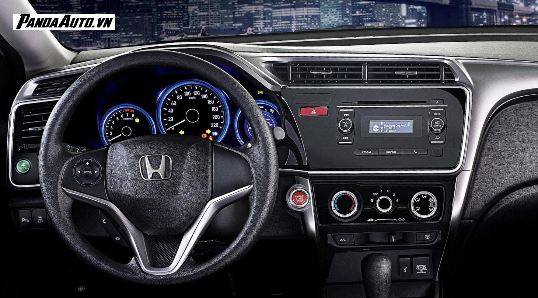 Màn hình ô tô trên xe Honda City 2016