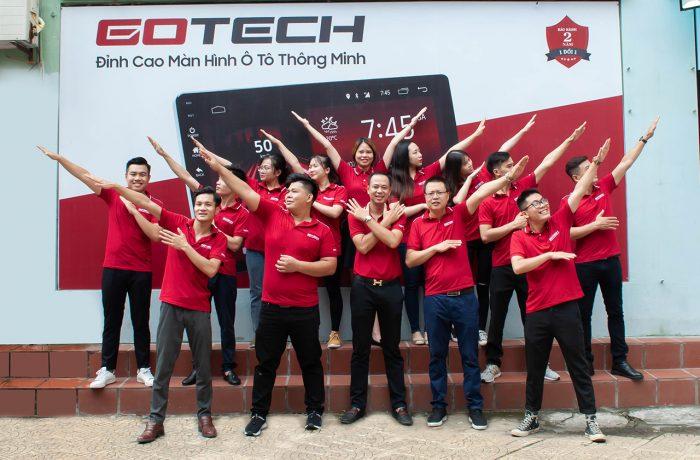 Đội ngũ nhân sự nhiệt huyết của Gotech