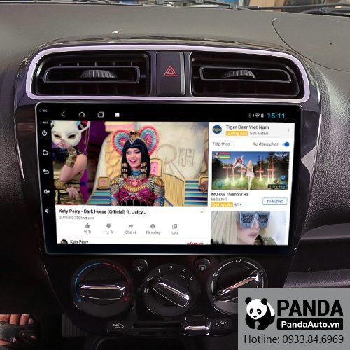 Màn hình Android cho xe Attrage