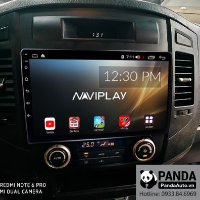 Màn hình Android cho xe Mitsubishi Pajero 2007-2011