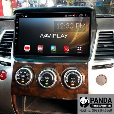 Màn hình Android cho xe Mitsubishi Pajero Sport