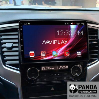 Màn hình Android cho xe Mitsubishi Triton