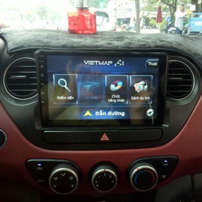 Màn hình DVD Android cho xe Grand i10