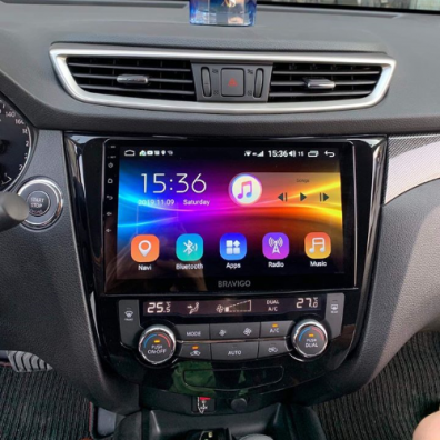 Màn hình dvd android cho xe nissan xtrail