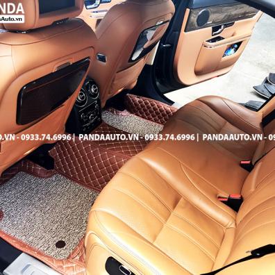 Thảm 6D Jaguar XJL hàng ghế sau