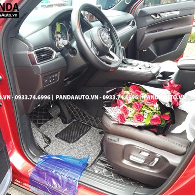 Thảm sàn 6D Mazda CX8 ghế lái